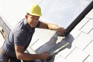 roofer talking